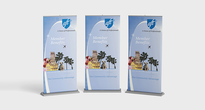 American Federation of Teachers Banners