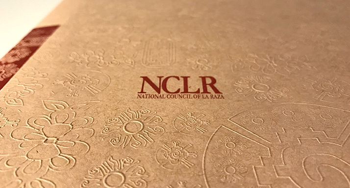 National Council of LaRaza Folder Cover Closup