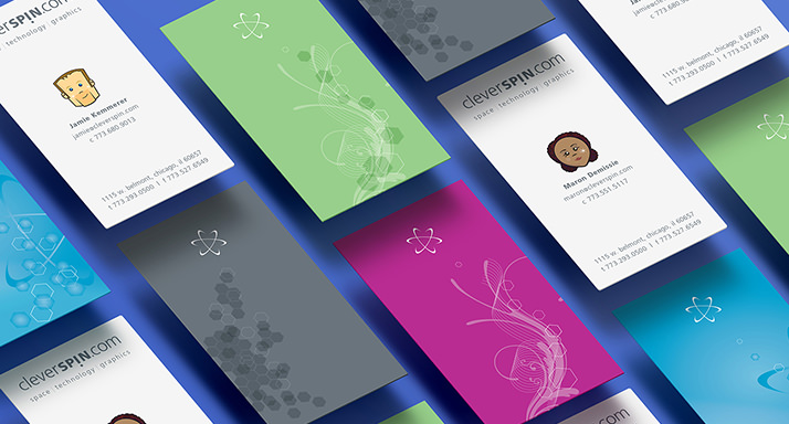 cleverSPIN Business Cards