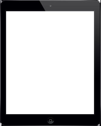 device presentation tablet frame