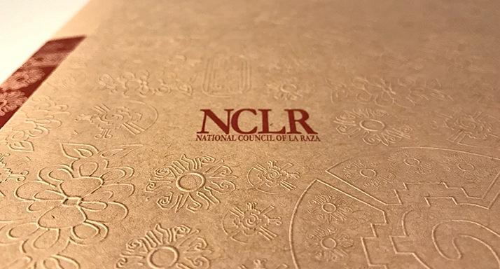 National Council of LaRaza Folder Cover Closup